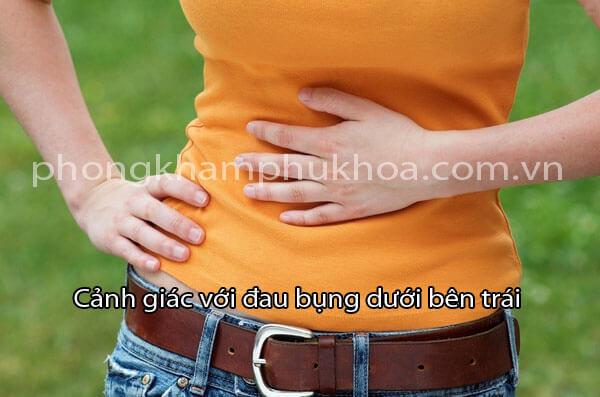 Cảnh giác với đau bụng dưới bên trái ở nam và nữ giới