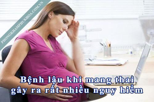 Bệnh lậu khi mang thai nguy hiểm thế nào?
